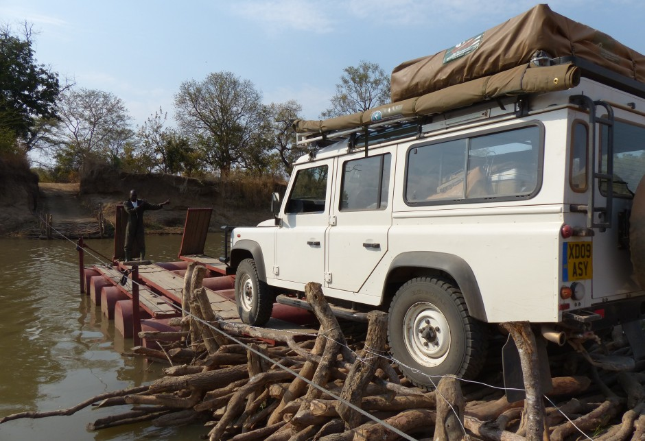 110 River Crossing in Malawi